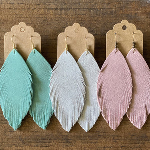 Suede Boho Earrings (more colors available)