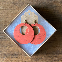 Load image into Gallery viewer, Salmon Cork Earrings