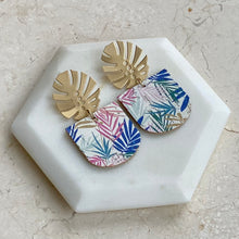 Load image into Gallery viewer, Palm Beach Cork Statement Earring