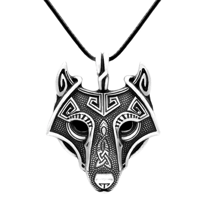 Wolf Viking Necklace