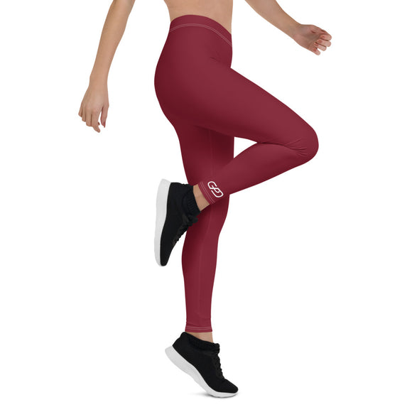 GPD Pro Team Leggings - Royal Wine - Full Length