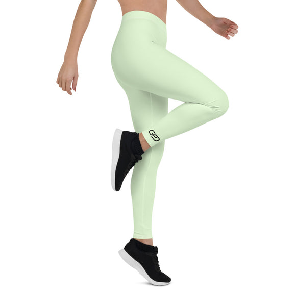 GPD Pro Team Leggings - Crystal Green - Full Length