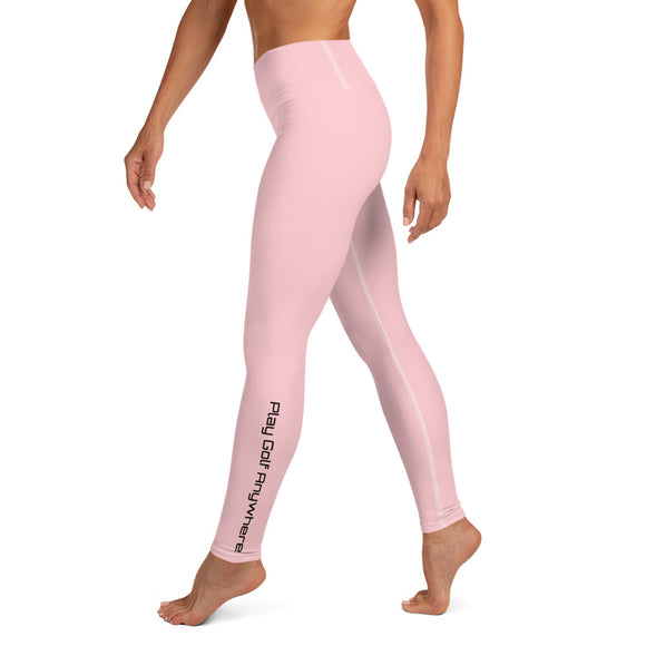 Womens - Full Length Leggings - Pink
