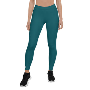 GPD Pro Team Leggings - Aqua Blue - Full Length