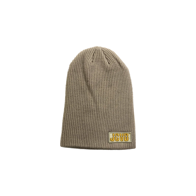 JCVD Slouched Beanie- Tan