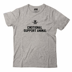 Emotional Support Animal Gray Tee