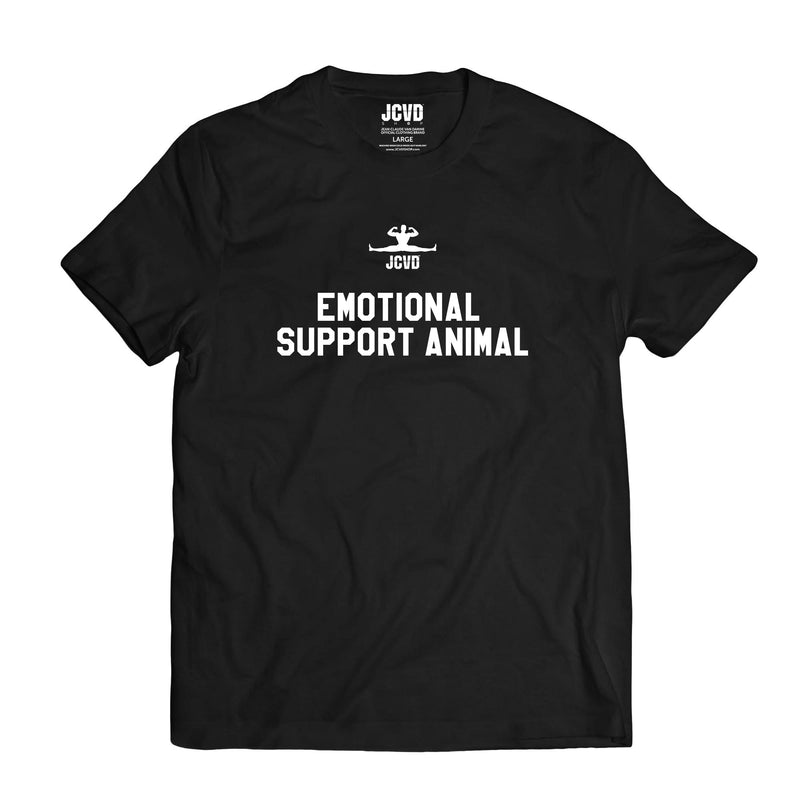 Emotional Support Animal Black Tee
