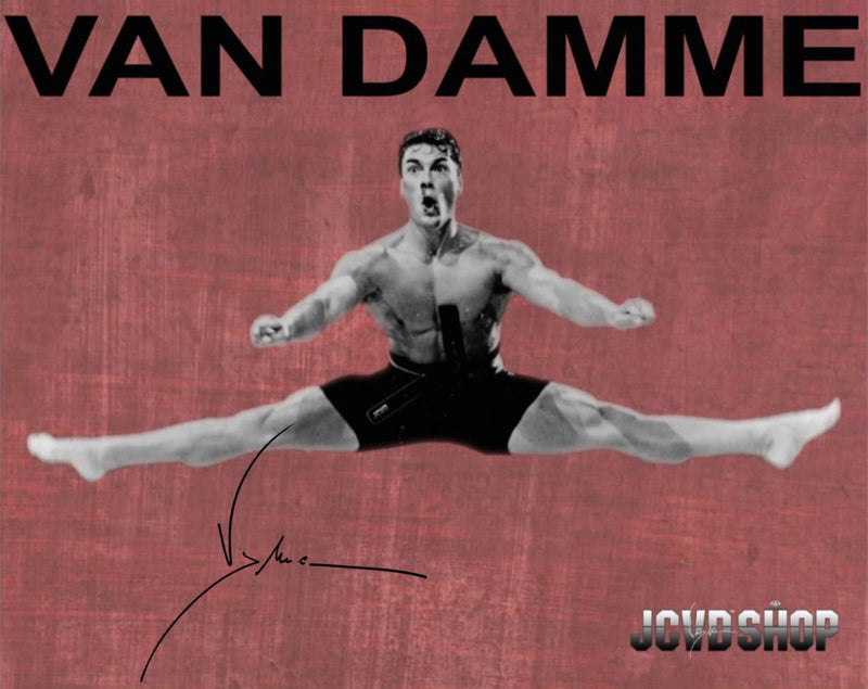 "JCVD Personally Autographed 8"" x 10"" Epic Split Photo"