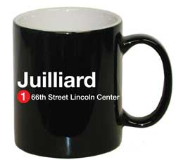 Juilliard Subway Mug