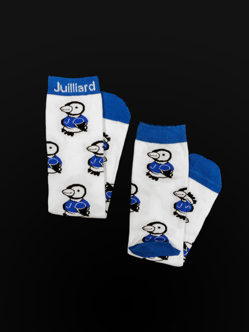 Juilliard Penguin Print Socks