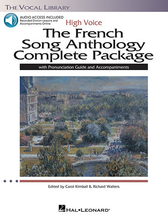 French Song Anthology Complete Package High Voice