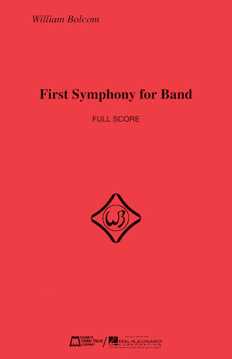 First Symphony For Band - Full Score (oversized)