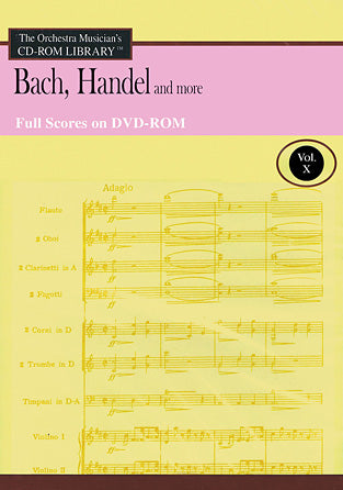 Full Score Cd-Rom Bach, Handel