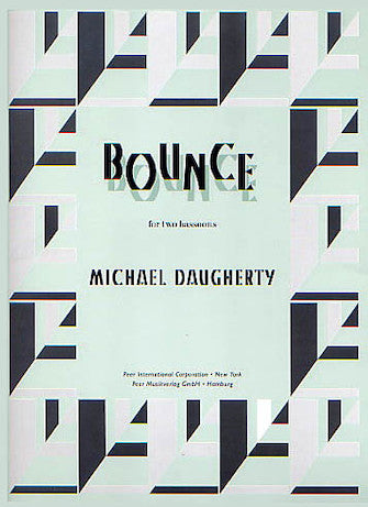 Daugherty Bounce (for two bassoons)