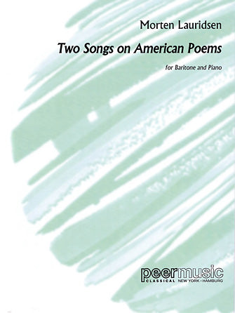 2 Songs on American Poems - Baritone and Piano