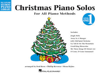 Christmas Piano Solos - Level 1 - Hal Leonard Student Piano Library
