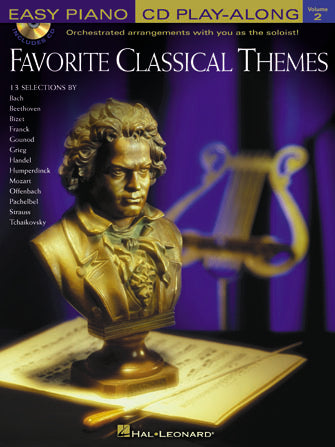 Favorite Classical Themes - Easy Piano CD Play-Along Vol. 2