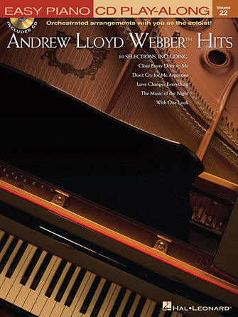 Lloyd Webber, Andrew - Hits - Easy Piano CD Play-Along Vol. 22