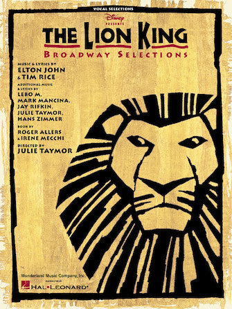 Lion King, The - Broadway Selections