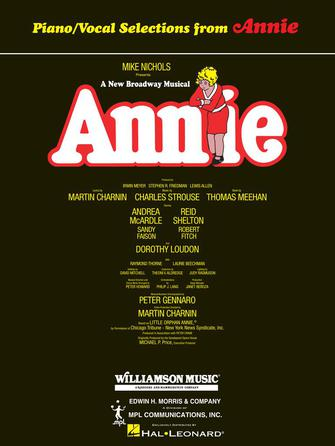 Annie - Broadway Vocal Selections