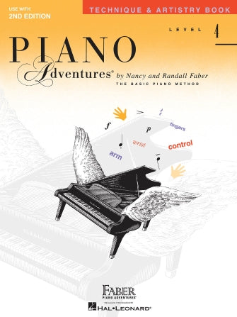 Faber Piano Adventures - Technique and Artistry Book Level 4
