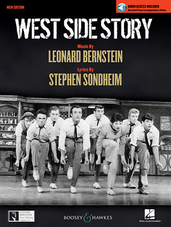 West Side Story - Vocal Selections with Piano Accompaniment Recording