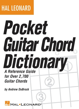 Hal Leonard Pocket Guitar Chord Dictionary