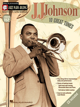 Johnson, J.J. - Jazz Play-Along Series Vol. 152