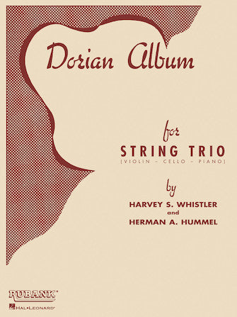 Dorian Album For String Trio