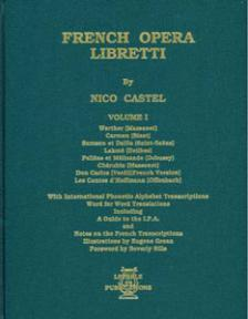 French Opera Libretti Volume 1