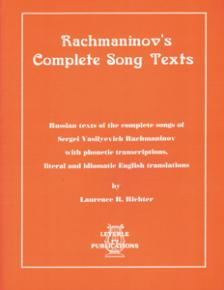 Rachmaninoff's Complete Song Texts