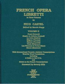 French Opera Libretti Volume 2
