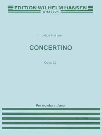 Concertino for Trumpet and Strings Op. 29