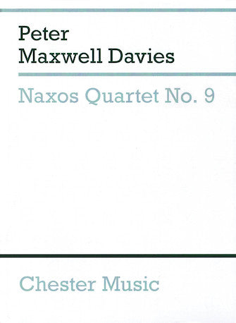Naxos Quartet No. 9 Study Score (string Quartet)