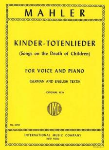 Mahler Kindertotenlieder Medium Voice