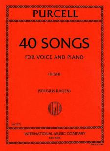 Purcell 40 Songs for High Voice (Complete)