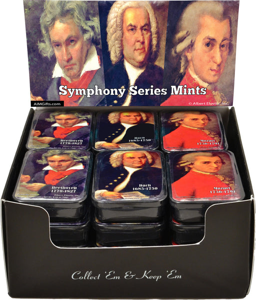 Composers Mint Tin