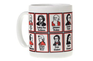Great Composers Mug