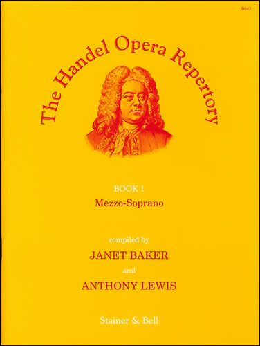 The Handel Opera Repertory, Book 1