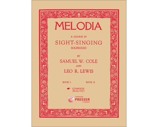 Melodia, Complete(Book 1-4) Sight Singing