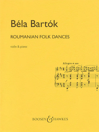 Bartok Roumanian Folk Dances