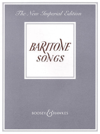 Baritone Songs (New Imperial Edition)
