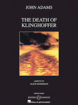 Adams The Death of Klinghoffer Vocal Score