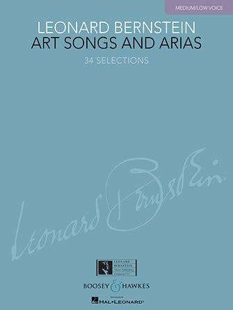 Bernstein, Leonard - Art Songs and Arias