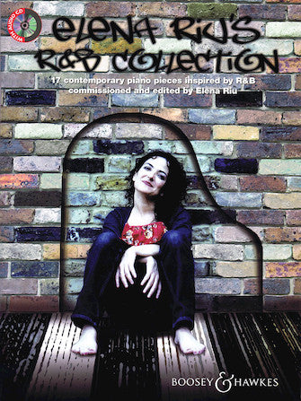 Elena Riu's R&b Collection For Solo Piano With Performance Cd