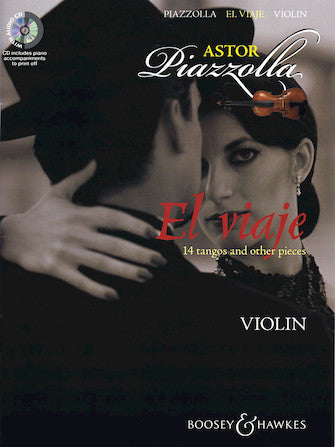 El Viaje: 14 Tangos And Other Pieces For Violin Book/cd Cd Has Piano Accompaniments