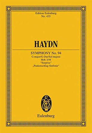 Symphony No. 94 in G Major, Hob.I:94 Surprise