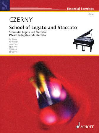 School Of Legato And Staccato Op. 335 For Piano Urtext