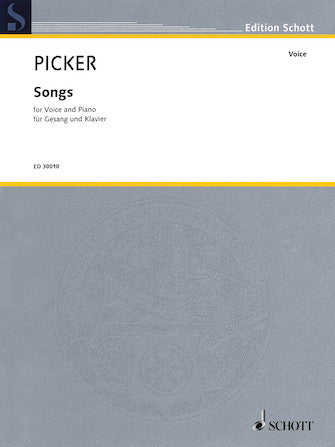 Picker Songs for Voice and Piano