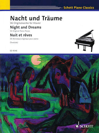 Night And Dreams (nacht Und Traume) 36 Original Piano Pieces